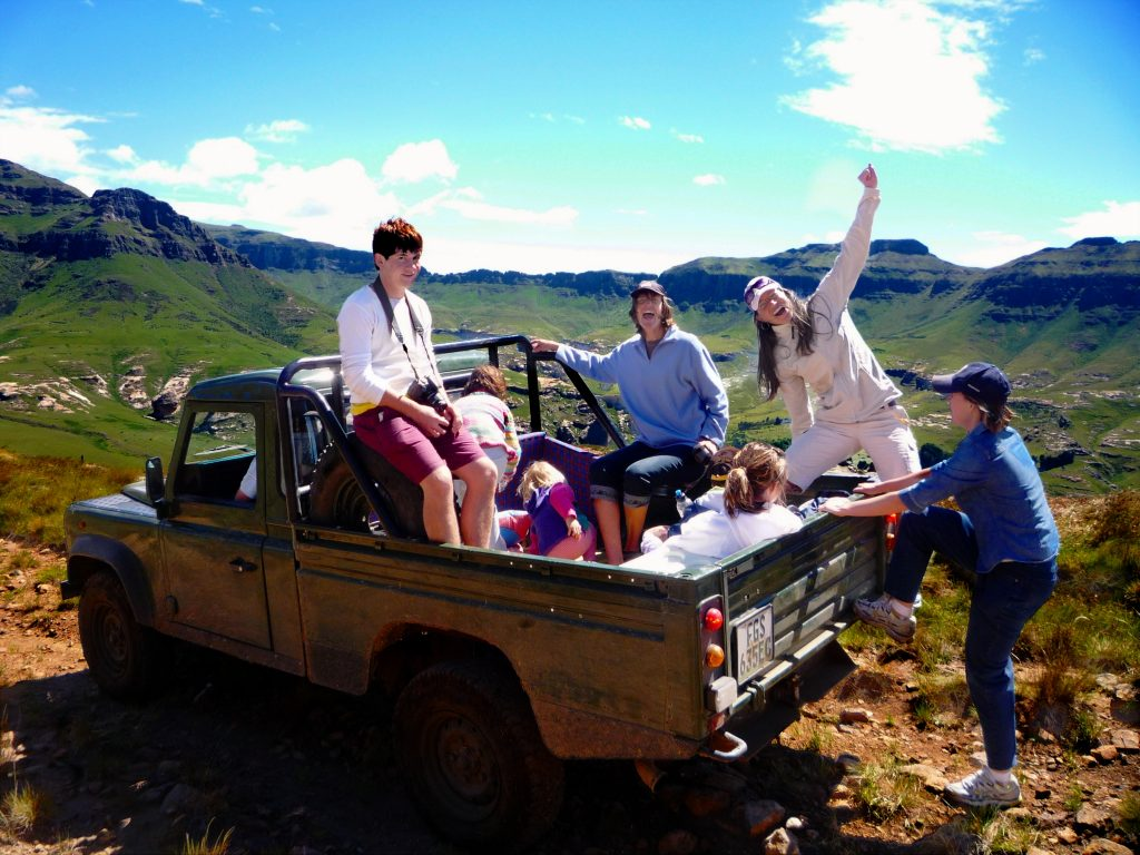4X4 Drive in the Wartrail area in the Eastern Cape Highlands