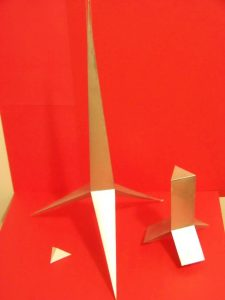 Swannie named the model of the tetrahedron Trinity in Unity